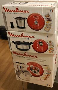 Robot MOULINEX COMPANION XL + Cuiseur vapeur + Mini Bol de cuisson - NEUF