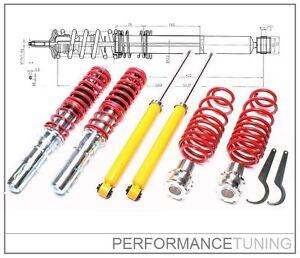 Combine-Filete-Amortisseurs-Reglables-VW-GOLF-4-Tuning-Kit-Complet
