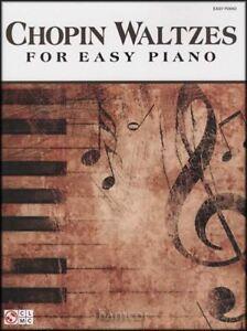Amical Chopin Valses Pour Easy Piano Classique Sheet Music Book-afficher Le Titre D'origine