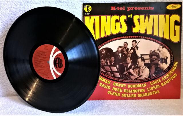 VARIOUS-KINGS OF SWING-1977-VINYL-EX/EX