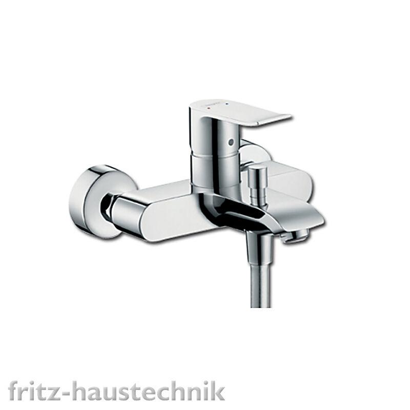 Hansgrohe METRIS Einhebel-Wannenmischer DN15, Aufputz 31480000