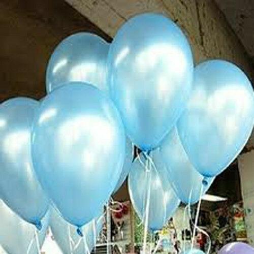 "Wedding 10/"" Birthday 30-100 Party Pearlised LATEX BALLOONS Helium Christe"