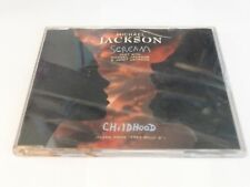 MICHAEL JACKSON JANET JACKSON SCREAM CHILDHOOD FREE WILLY 2 THEME 1995 CD SINGLE