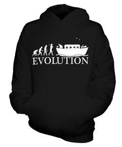 ARCHE-NOAH-EVOLUTION-DES-MENSCHEN-KINDER-KAPUZENPULLOVER-HOODIE-JUNGEN-MADCHEN