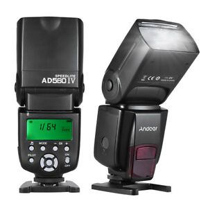 Wireless Flash Speedlite Speedlight for YONGNUO 560IV Canon Nikon SONY A7 Camera