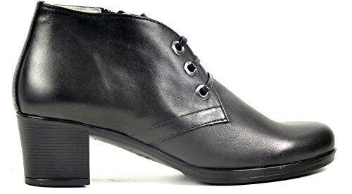OGS Wide schuhe Valeria Leather Stiefel 3E wide