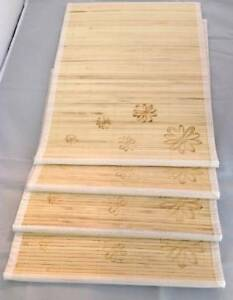 Set-of-8-Bamboo-Kitchen-Placemats-Place-Mat-Dinner-Table-Decor-Party-New