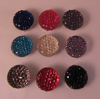 Accent Stud Small Round Lapel Pin Disco Ball Everyday Wedding Prom