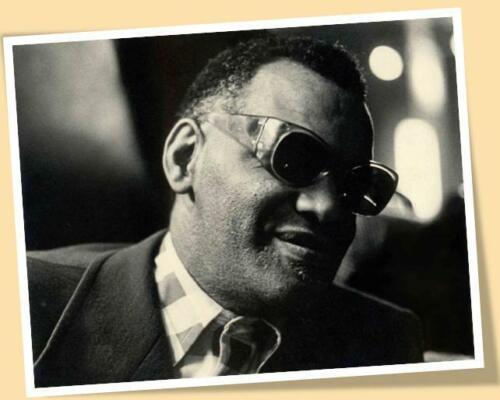 RAY CHARLES PORTRAIT FACE MATTE PRINT POSTER SIZE MUSIC BLUES SOUL JAZZ SONGS