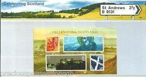 GB-Presentation-Pack-M14-2006-CELEBRATING-SCOTLAND-MINIATURE-SHEET