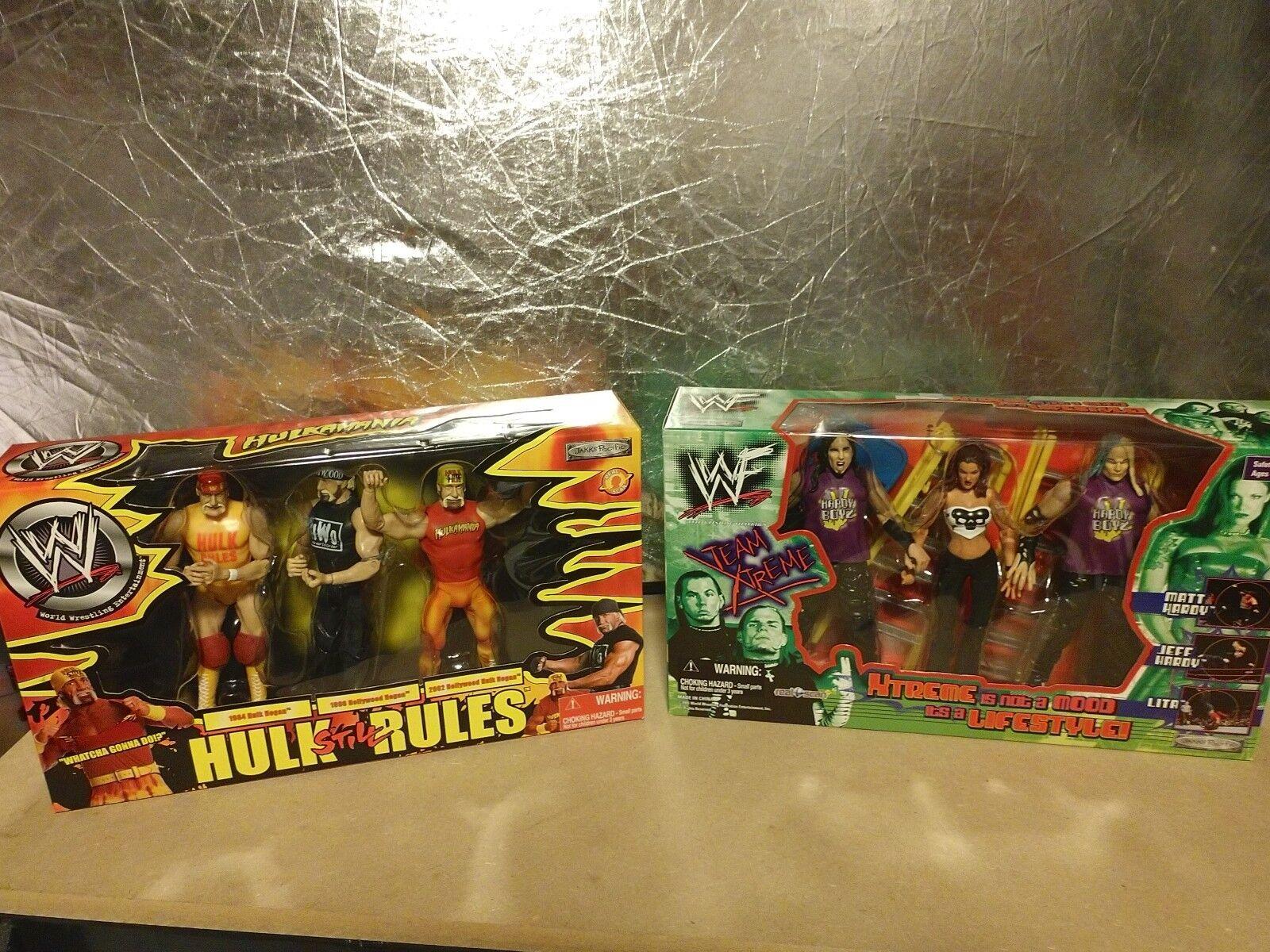 Jakks Pacific Team Xtreme Extreme Hardy Boys Boyz Lita, Hulk Hogan Still Rules