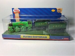 Details About Thomas Friends Wooden Railway Flying Scotsman Fisher Price Item Y6784 New