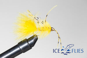 Size 4 Groa 3-pack - 10 Streamer fly tungsten beadhead ICE FLIES