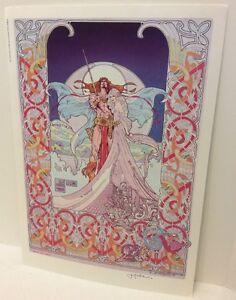 Jim Fitzpatrick Signed Nemed The Great Poster Print Celtic
