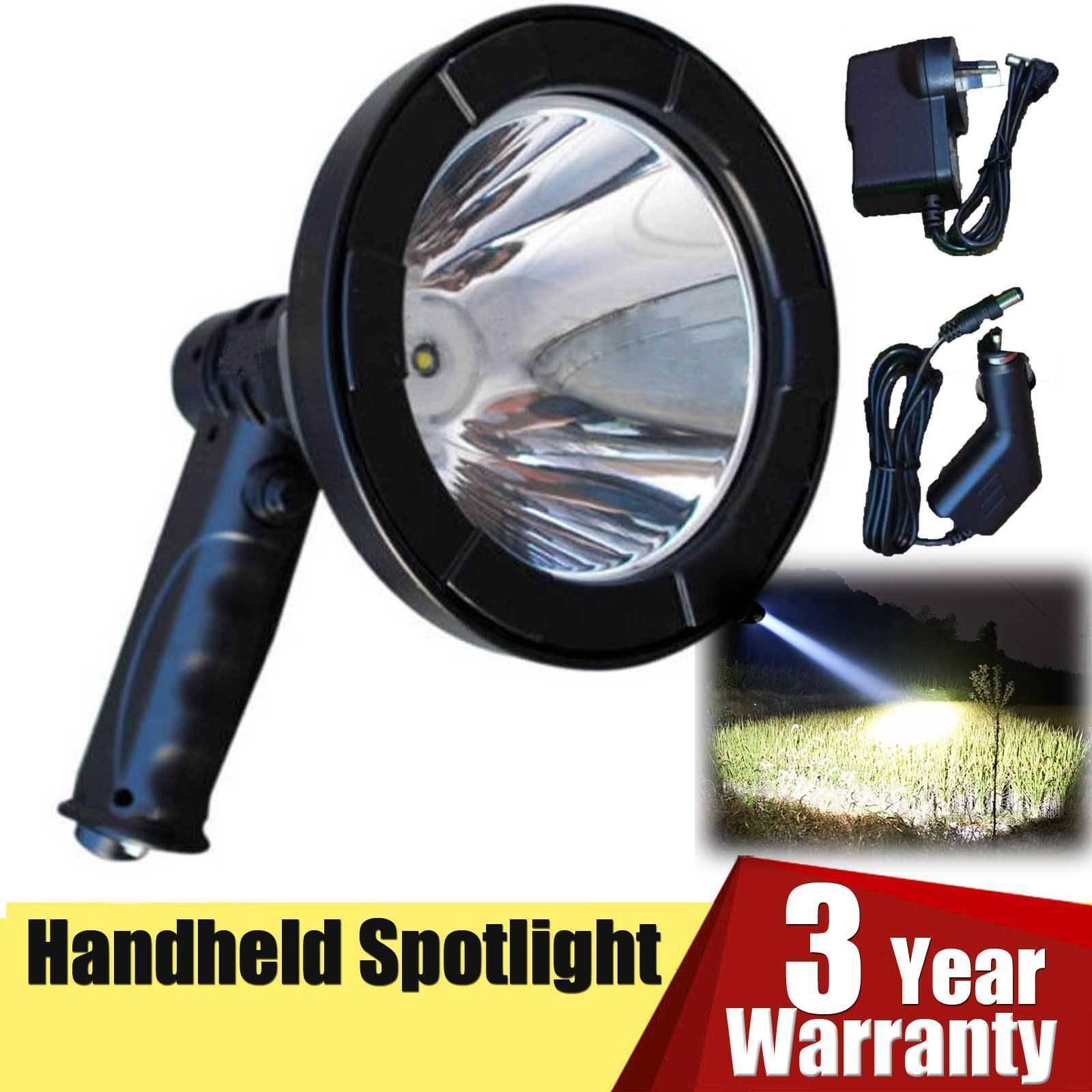 500W CREE LED Spotlight Lamp Torch Lamping Hunting Shooting Fishing 125mm 12V