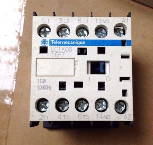 Telemecanique Contactor parte 110 V NO.LC1K0610F7
