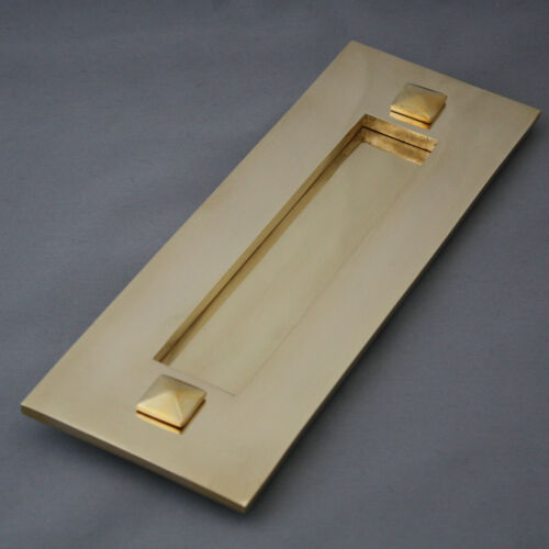 Traditional Brass Letterbox