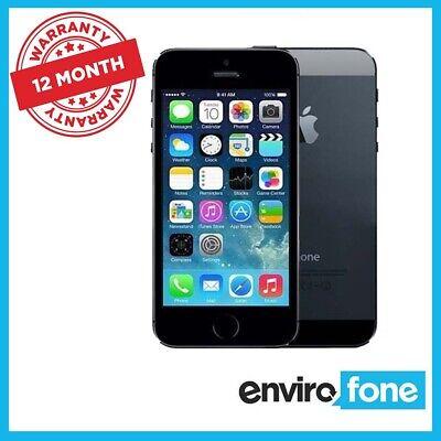 Apple iPhone 5S 16GB 32GB 64GB Grey Silver Gold Unlocked Refurbished Smartphone