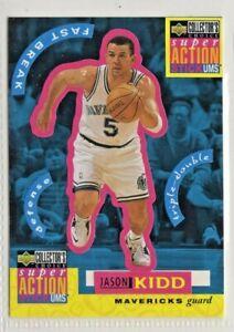 nba UPPER DECK 1996 Super Action Stick ums # b6 JASON KIDD  BASKETBALL CARD mint