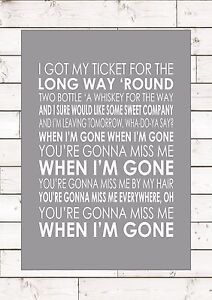 Will you miss me when i m gone lyrics