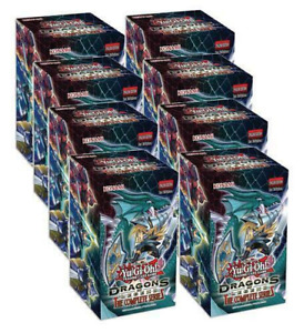 YuGiOh TCG Dragons of Legends Complete Series Full Display NEW SEALED SHIPS 9/11