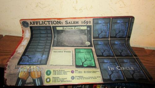 Salem 1962 Playmat DPH Games Affliction