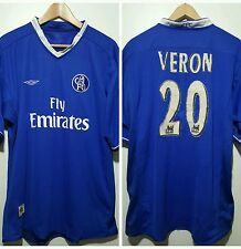 Maglia calcio Chelsea Umbro vintage shirt camiseta soccer Chelsea N 20 Veron
