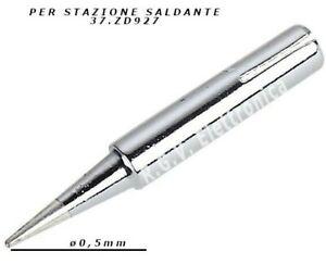 Punta di ricambio per stilo saldante 900M-T-I 0.2mm 01276
