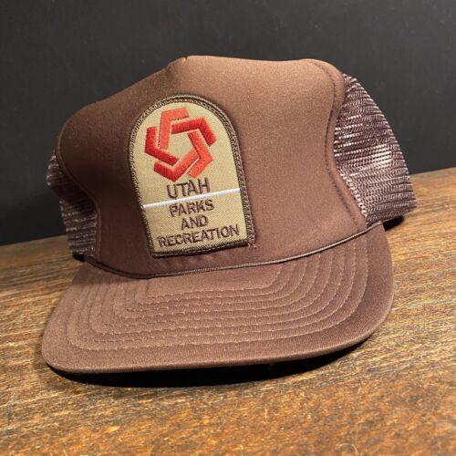 Vintage Trucker Hat Utah Parks and Recreation Adju