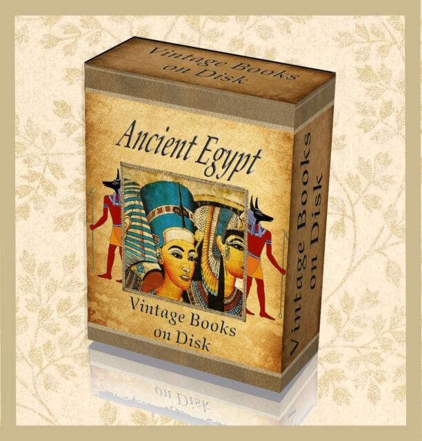 Rare Egyptian Hieroglyphics Books On Dvd Ancient Egypt Art Symbols