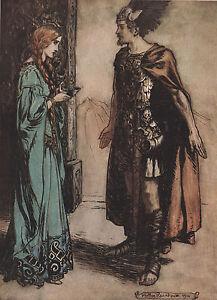 Siegfried Viking poção Wagner Anel Arthur Rackham 1911