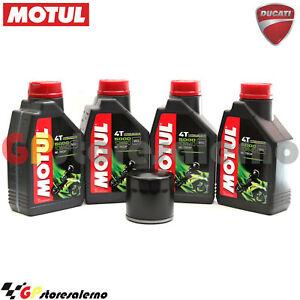 KIT-TAGLIANDO-OLIO-FILTRO-MOTUL-5000-10W40-4LT-DUCATI-796-HYPERMOTARD-2009