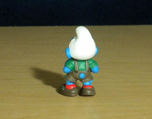 Smurfs 20461 Lederhosen Smurf Leather Shorts Vintage Figure PVC Toy Lot Figurine