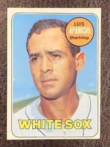 1969 Topps Luis Aparicio #75 NM HOF Chicago White Sox