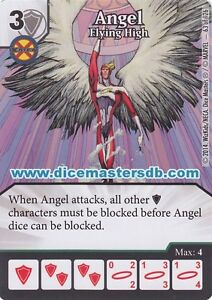Agressif Angel Flying High #63 - étrange X-men - Marvel Dée Masters