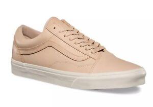 2370bd8b80 Vans Mens 9.5 Womens 11 Old DX Skool Veggie Tan Leather Shoes Skate ...