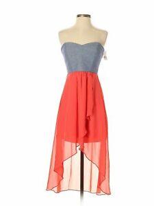 NWT-Trixxi-Women-Blue-Dress-S