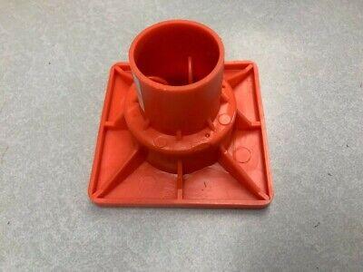 Rebar OSHA Caps Steel Plate #3 Flat Top #8 Impalement Safe BOX OF 25