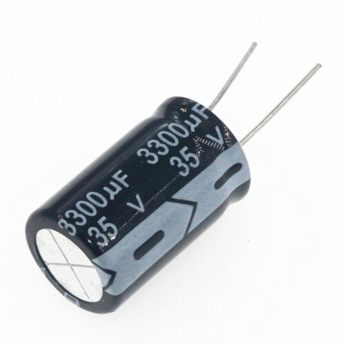 5PCS 35 V 3300uF 35 V 3300MFD condensateur électrolytique 16×25mm