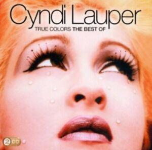 Cyndi-Lauper-Vrai-Couleurs-The-Best-Of-Cyndi-Neuf-CD