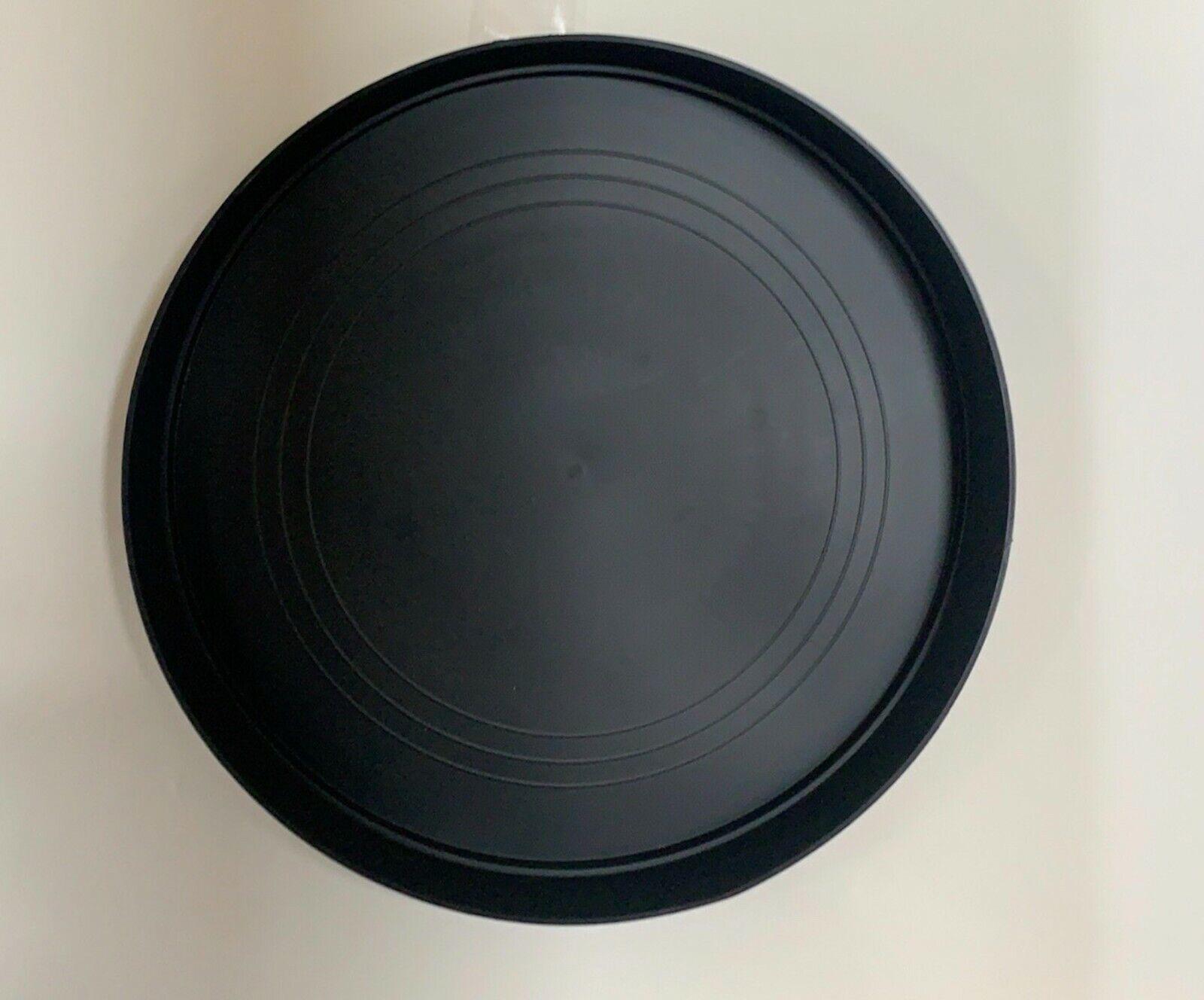Black Round Plastic Plant Pot Saucer Heavy Duty 40cm/400mm Quantity: x1