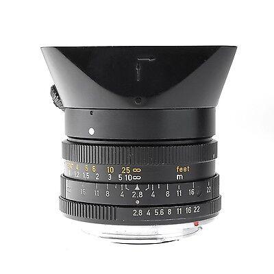 Leica 28mm f2.8 Elmarit-R 3 Cam Lens