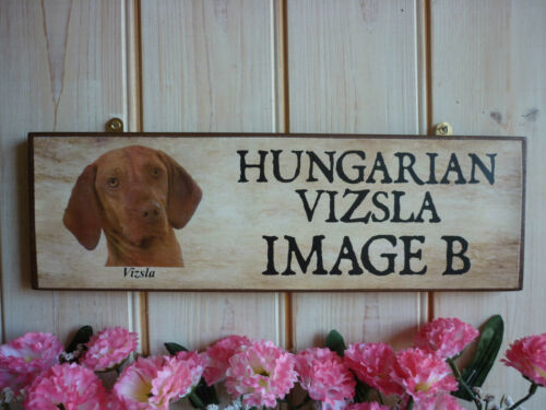 PERSONALISED VIZSLA DOG SIGN HUNGARIAN VIZSLA GIFT OWN WORDING SIGN YARD SIGN