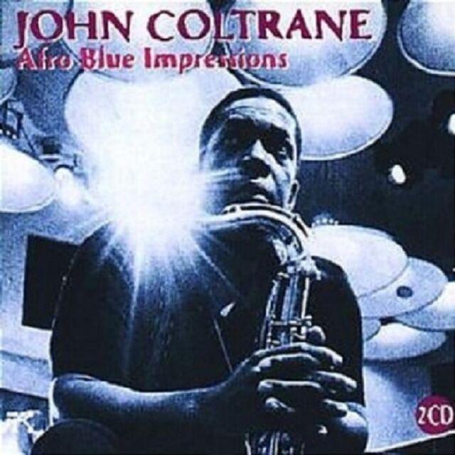 JOHN COLTRANE - AFRO BLUE IMPRESSIONS  2 CD 9 TRACKS MODERN JAZZ  NEU