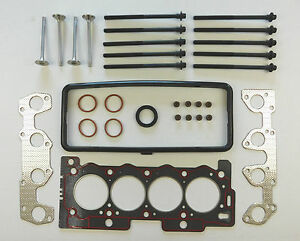 HEAD-GASKET-SET-BOLTS-4-EXHAUST-VALVES-106-206-207-307-1007-PARTNER-1-4-8V-MPi