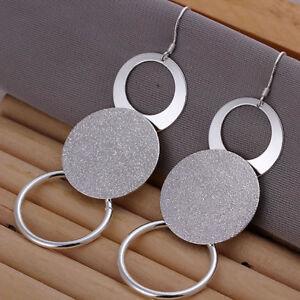 ASAMO-Damen-Ohrhaenger-mit-grossen-Ringen-Ohrringe-925-Sterling-Silber-plattiert