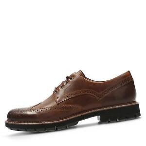 new product 9c272 15484 Details zu Clarks Herren Schnürschuhe Halbschuhe Business-Schuhe  Komfortschuh Schuhe braun