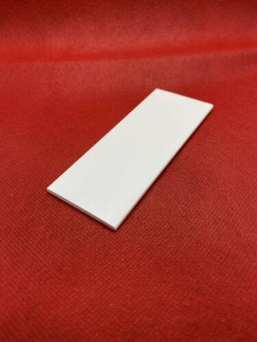 """60 mm /""""1,46//m/"""" 6m Flachleiste PVC Kunststoff Profil Abdeckleisten Flach Fenster"""