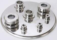 High Pressure Tank Lid Tri Clamp 12 Inch X 15 In Ss304 Fnpt 14 Amp 38 In