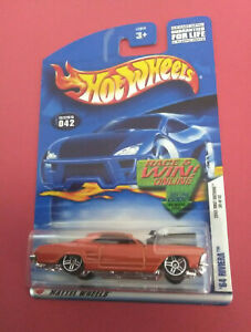 HOT-WHEELS-FIRST-EDITIONS-64-RIVIERA-LONG-CARD-ANNEE-2002-R-5902